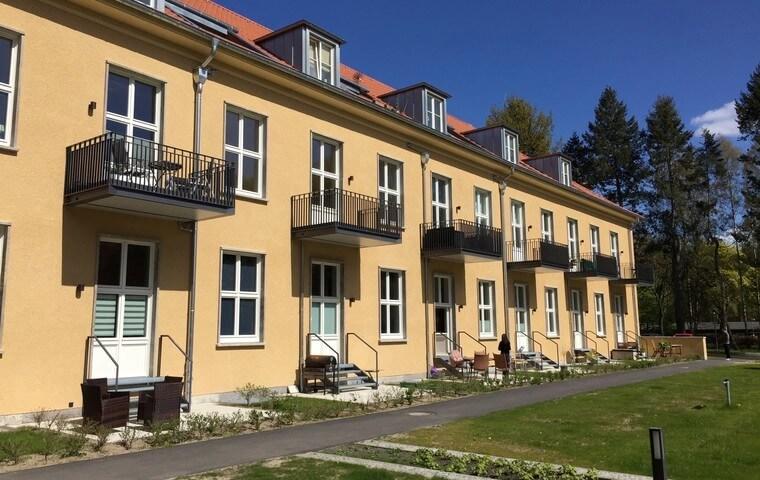 Die Wannsee-Suiten sind fertiggestellt und übergeben